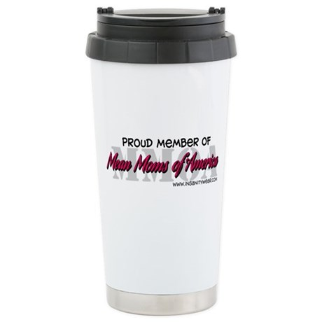 Mean Moms of America Ceramic Travel Mug