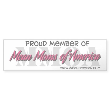 Mean Moms of America Sticker (Bumper)
