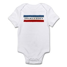 Obama Biden Star 2012 Infant Bodysuit