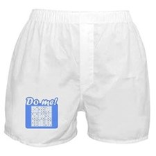 "Sudoku ""Do me!"" Boxer Shorts"