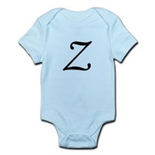 Z, as in Zorro, Infant Bodysuit
