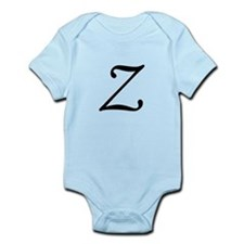Z, as in Zorro, Onesie