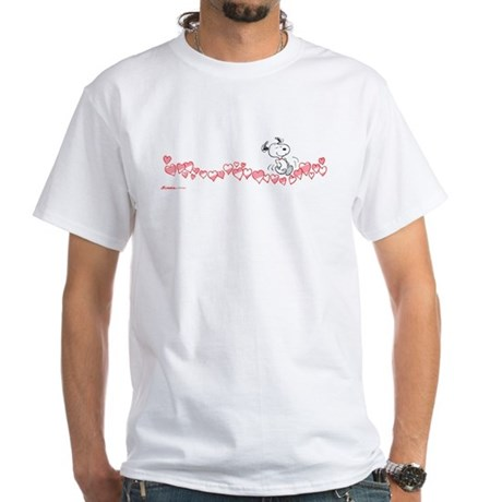 Happy Hearts White T-Shirt