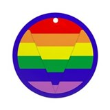 GLBT Geo b Ornament