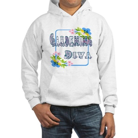 Gardening Diva Hooded Sweatshirt