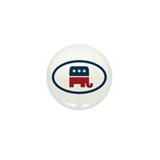 Republican elefant Mini Button (10 pack)