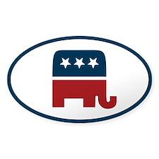 Republican elefant Decal