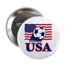 "USA Soccer 2.25"" Button (10 pack)"