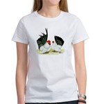 Japanese Black White Bantams Women's T-Shirt