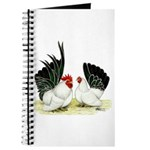 Japanese Black White Bantams Journal