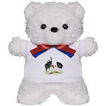 Japanese Black White Bantams Teddy Bear