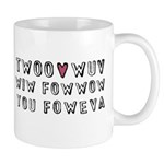 Princess Bride Twoo Wuv Foweva Mug