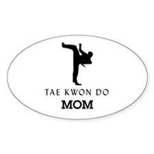 Tae Kwon Do Mom Decal