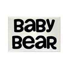 Baby Bear Rectangle Magnet