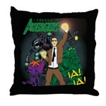 Lovecraft Avengers Throw Pillow