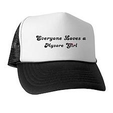 Loves Mysore Girl Trucker Hat