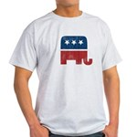 election animal elefant republican Light T-Shirt