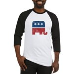 election animal elefant republican Baseball Jersey