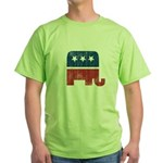 election animal elefant republican Green T-Shirt