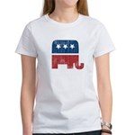 election animal elefant republican Women's T-Shirt