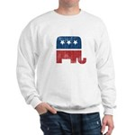 election animal elefant republican Sweatshirt