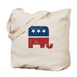 election animal elefant republican Tote Bag