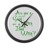 Good Witch? 1 Large Wall Clock