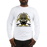 Zombie Guns 187 Long Sleeve T-Shirt