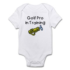 Golf Pro in Training Infant Creeper