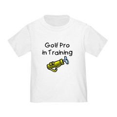 Golf Pro in Training Toddler Tee