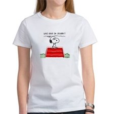 Crabby Snoopy Women's T-Shirt