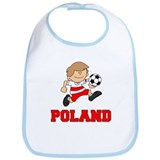 Poland Football (Soccer) Bib