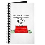 Crabby Snoopy Journal