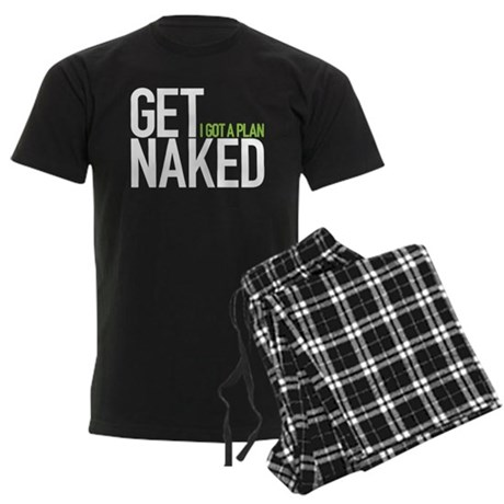Get Naked Men's Dark Pajamas
