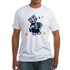 Retro Accordion Kitten Shirt