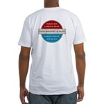 Bin Laden Dead, Auto Industry Alive Fitted T-Shirt