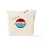 Bin Laden Dead, Auto Industry Alive Tote Bag