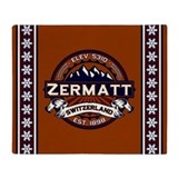 Zermatt Vibrant Throw Blanket