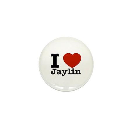 I love Jaylin Mini Button (100 pack)