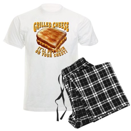 Grilled Cheese Men's Light Pajamas