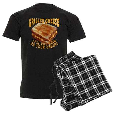 Grilled Cheese Men's Dark Pajamas