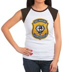 Delaware State Police Women's Cap Sleeve T-Shirt