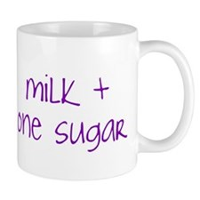 """Milk + One Sugar"" Mug"