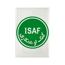ISAF Rectangle Magnet
