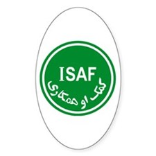 ISAF Oval Decal
