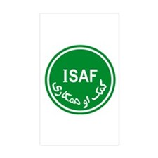 ISAF Rectangle Decal