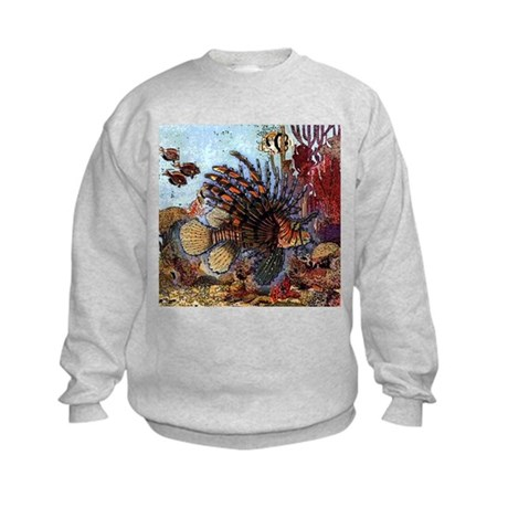 Ocean Window Kids Sweatshirt
