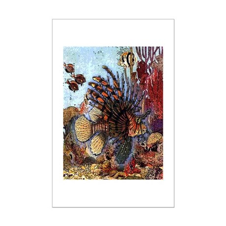Ocean Window Mini Poster Print