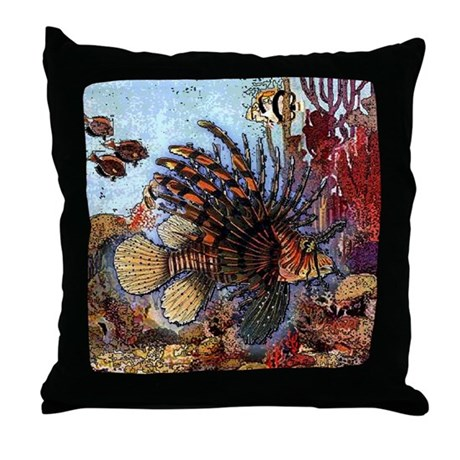 Ocean Window Throw Pillow