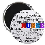 Nurse 2.25&quot; Round Magnet (100 pack)
